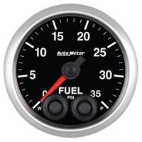 Auto Meter Elite Fuel Pressure Gauge 52mm 0-35 PSI