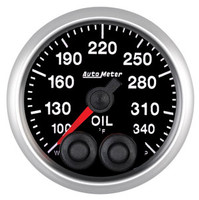 Auto Meter Elite Oil Temperature Gauge 52mm 100-340ºF