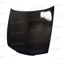 Seibon OEM-style carbon fiber hood for 1995-1996 Nissan 240SX