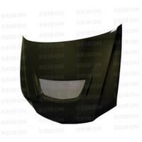 Seibon OEM-style carbon fiber hood for 2003-2007 Mitsubishi Lancer EVO