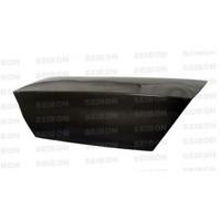 Seibon OEM-style carbon fiber trunk lid for 2003-2007 Mitsubishi Lancer EVO