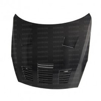 Seibon GT-style carbon fiber hood for 2009-2012 Nissan GTR