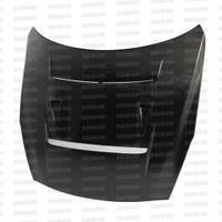 Seibon DV-style carbon fiber hood for 2009-2012 Nissan GTR