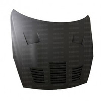 Seibon GT-style DRY CARBON hood for 2009-2012 Nissan GTR..*ALL DRY CARBON PRODUCTS ARE MATTE FINISH!
