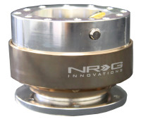 NRG Gen 1.0 Quick Release- Silver Body/ Titanium Ring