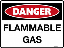 DANGER - FLAMMABLE GAS