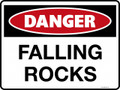 DANGER - FALLING ROCKS