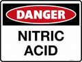 DANGER - NITRIC ACID