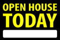 Open House Today - Black/Ylw