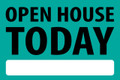 Open House Today - Teal