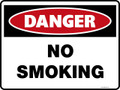 Danger Sign - NO SMOKING