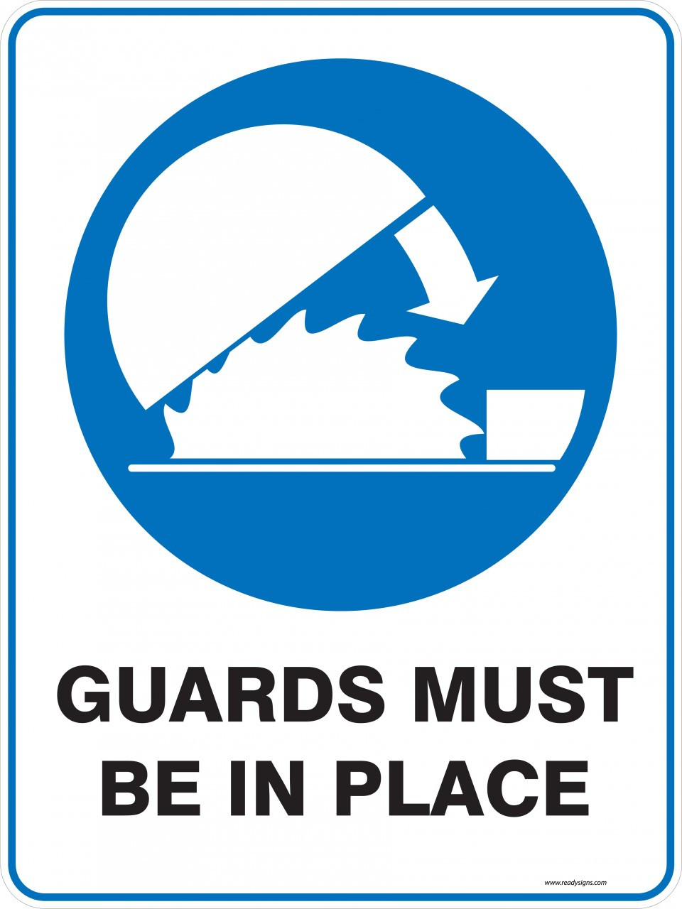 Mandatory Sign  Guards Must Be In Place  Ready Signs. Dark Side Signs. Singh Signs Of Stroke. Creative Direction Signs. Rec Room Signs. Fury Signs. Blade Signs Of Stroke. Public Safety Signs. Increased Thirst Signs