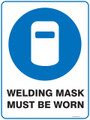 Mandatory Sign - WELDING MASK MUST BE WORN