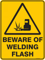 Warning  Sign - BEWARE OF WELDING FLASH