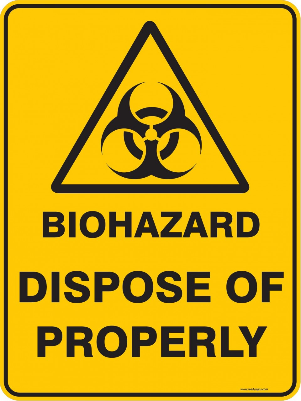 image relating to Biohazard Sign Printable identified as Biohazard Signal Printable -