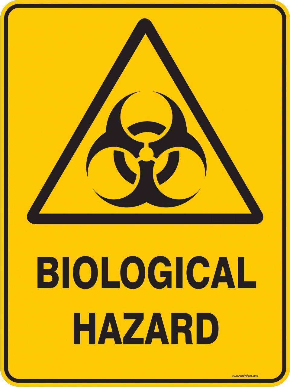 Warning Sign Biological Hazard Ready Signs