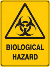 Warning  Sign - BIOLOGICAL HAZARD