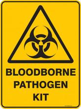 Warning  Sign - BLOODBORNE PATHOGEN KIT