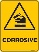 Warning  Sign - CORROSIVE