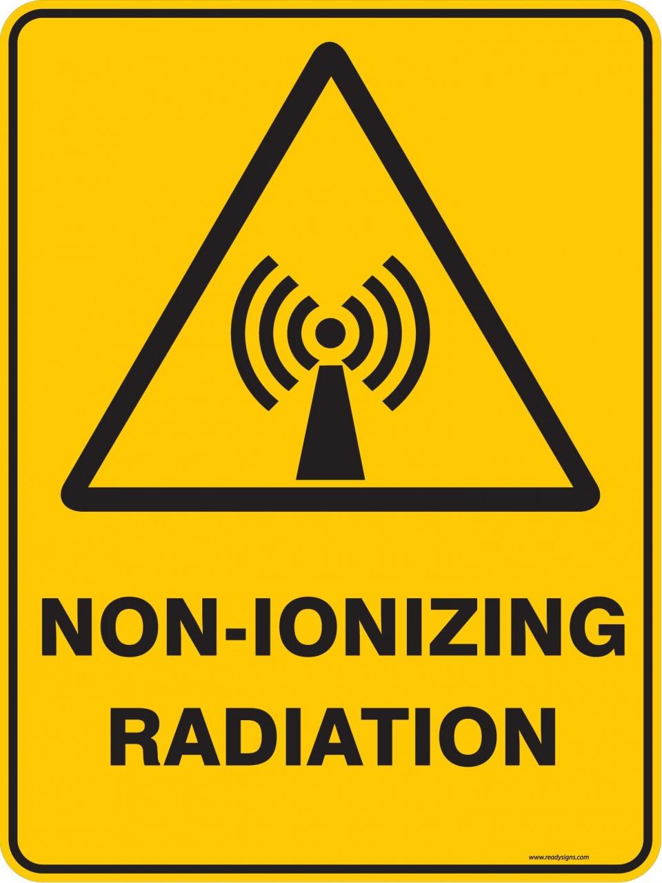 Radiation Warning - ma Radiation Sign