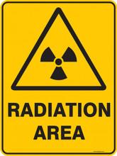 Warning  Sign - RADIATION AREA
