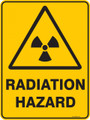 Warning  Sign - RADIATION HAZARD