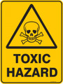 Warning  Sign - TOXIC HAZARD