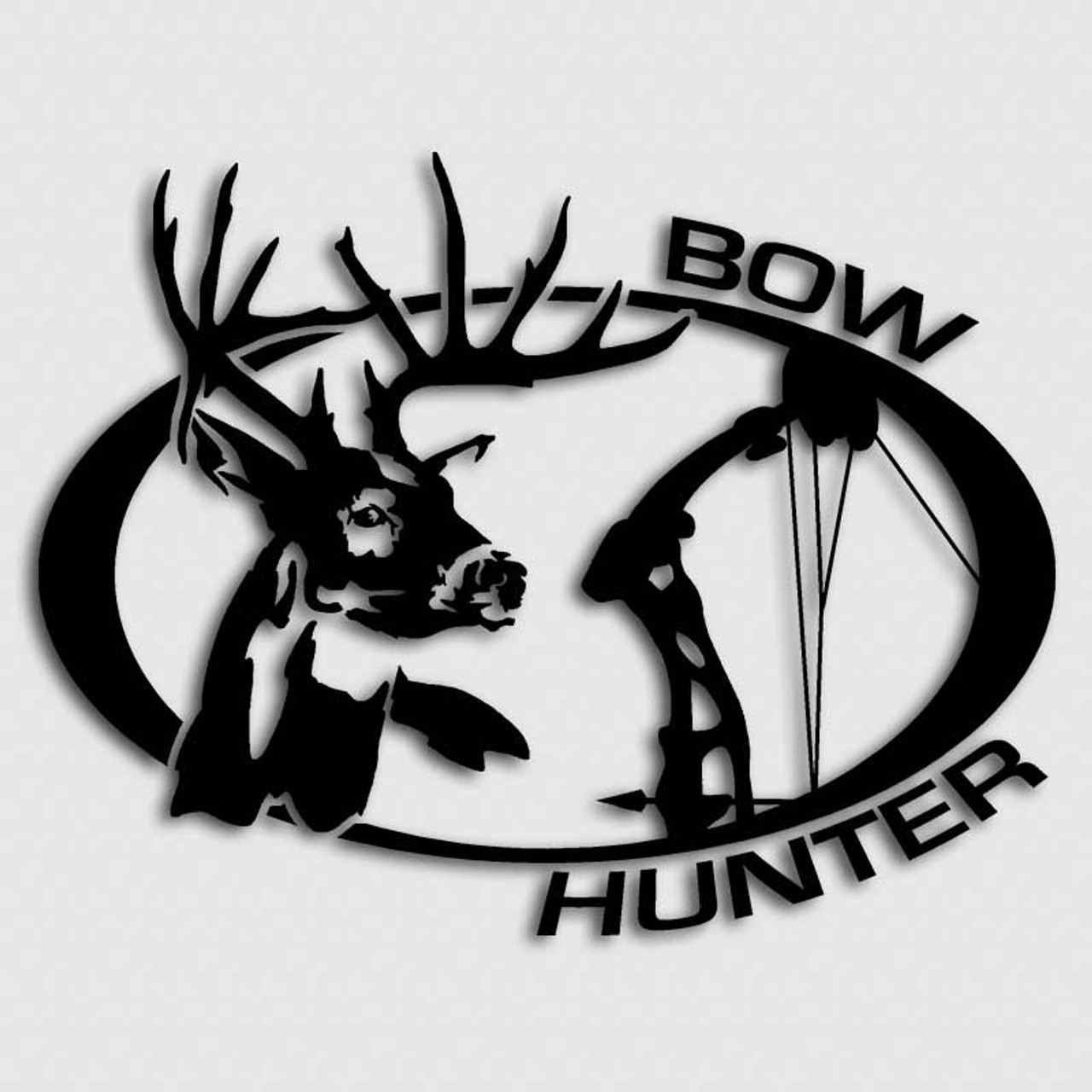 Archery Hunting Whitetail Deer Decals Bow Hunter Backwoods Stickers - Bow hunting decals for trucks