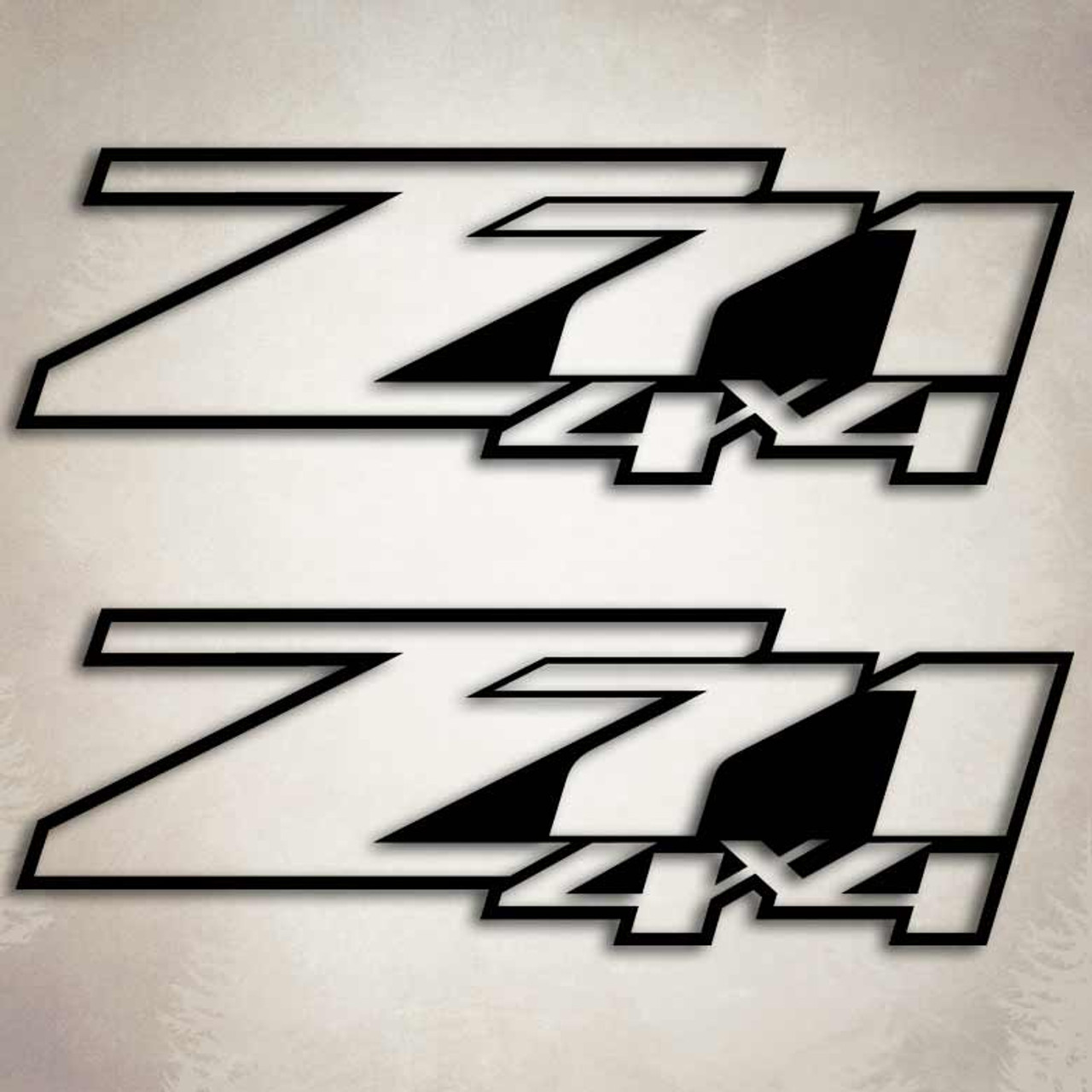 Z X Truck Decals Silverado Sticker Set - Chevy silverado sticker