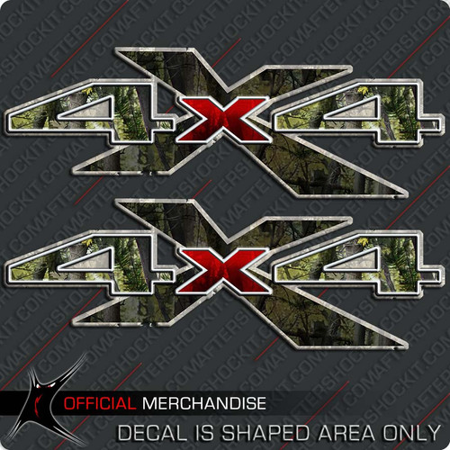 4x4 Shadow X Camo Decals