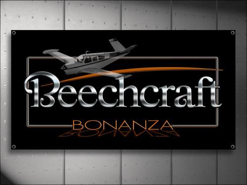 Beechcraft Bonanza Aircraft Banner
