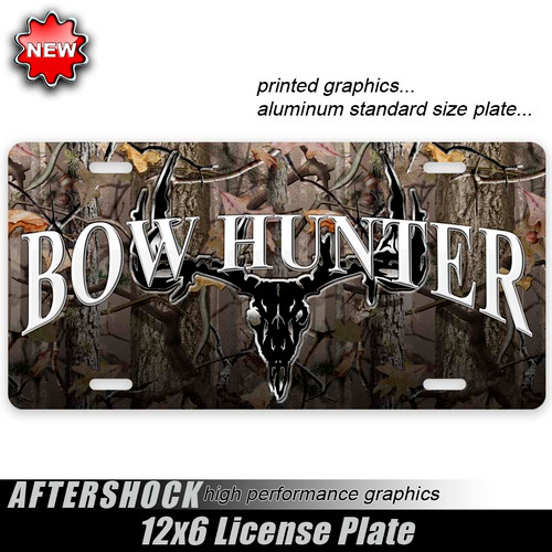 Bow Hunter Skull Plate