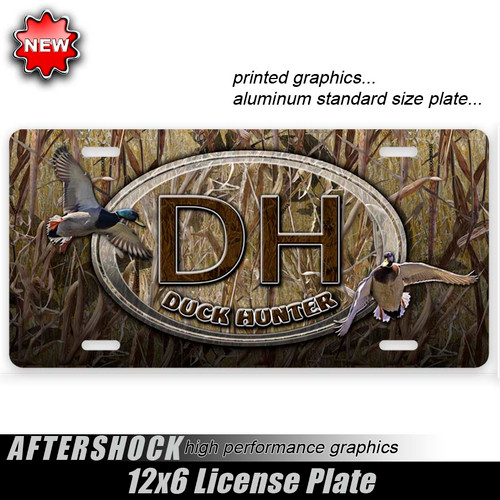 Duck Hunter Shocker Grass Plate