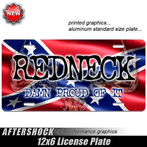 Redneck Hunter Skull Plate
