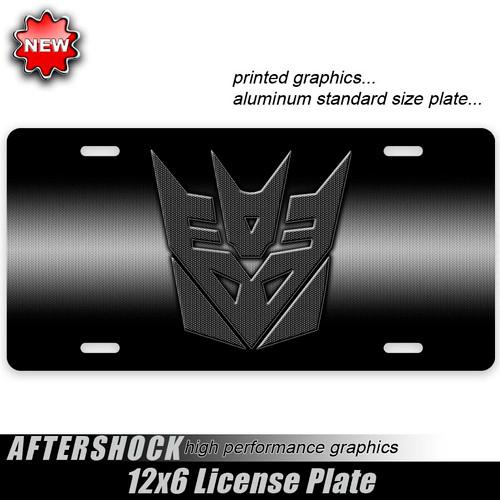 Decepticon Carbon Fiber Plate