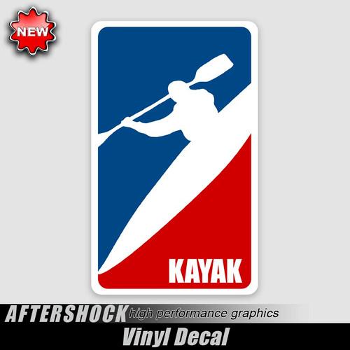 Kayak Logo Sticker