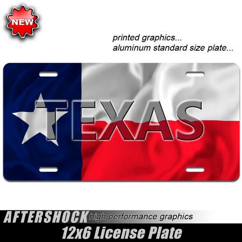Texas Flag Plate