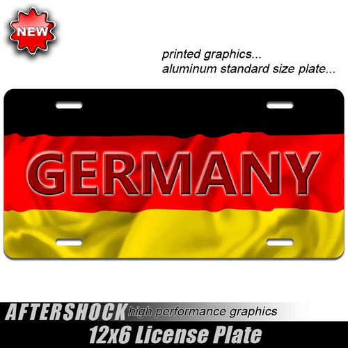 Germany Flag Plate