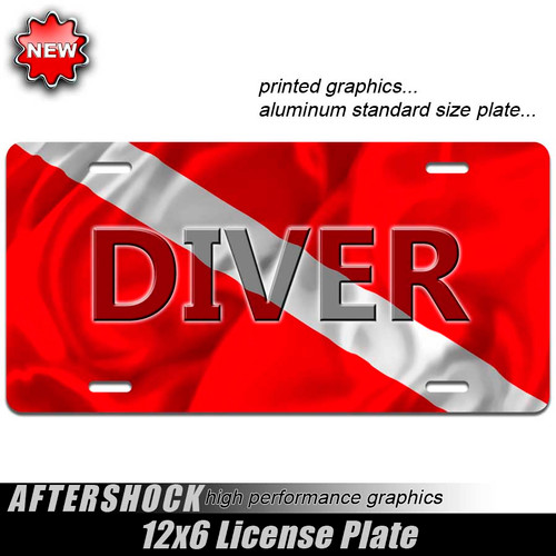 Dive Flag Plate