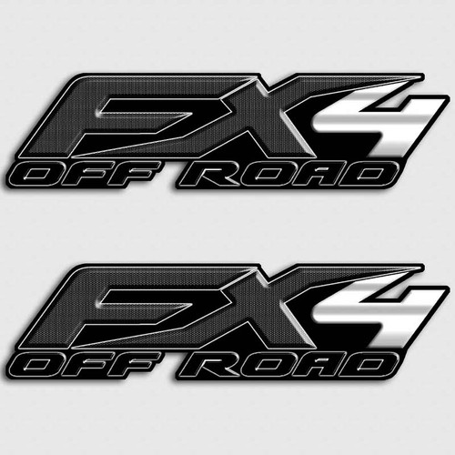 FX4 Carbon Fiber Stickers