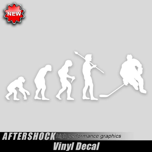 Hockey Evolution Sticker