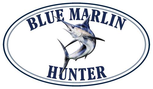 Blue Marlin Fish Hunter Sticker
