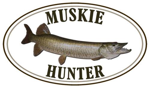 Muskie Hunter Sticker