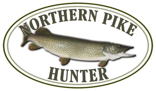 Northern Pike Hunter Sticker