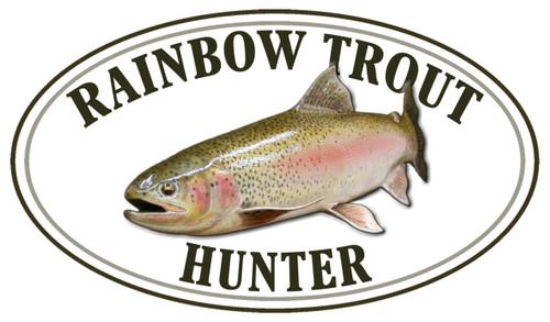 Rainbow Trout Hunter Sticker