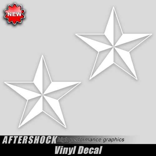 Nautical Star Decals
