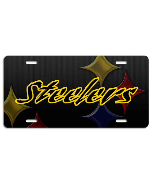 Steelers Vanity Plate