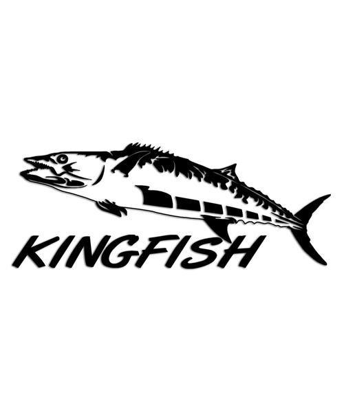 Kingfish Sticker