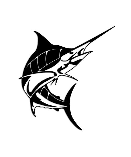 Blue Marlin Fish Sticker