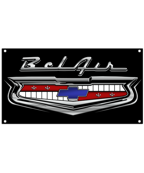 Bel Air Classic 1950's Car Banner